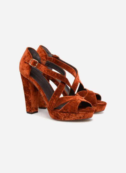 Sandales et nu-pieds Tila March TMS237-AB-38 Orange vue 3/4