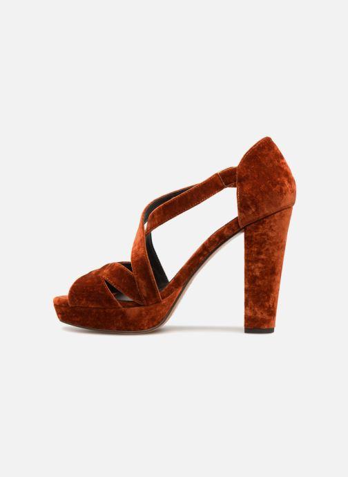 Sandales et nu-pieds Tila March TMS237-AB-38 Orange vue face
