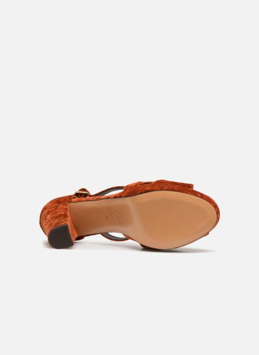 Sandales et nu-pieds Tila March TMS237-AB-38 Orange vue haut