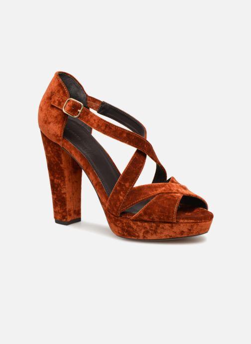 Sandales et nu-pieds Tila March TMS237-AB-38 Orange vue détail/paire