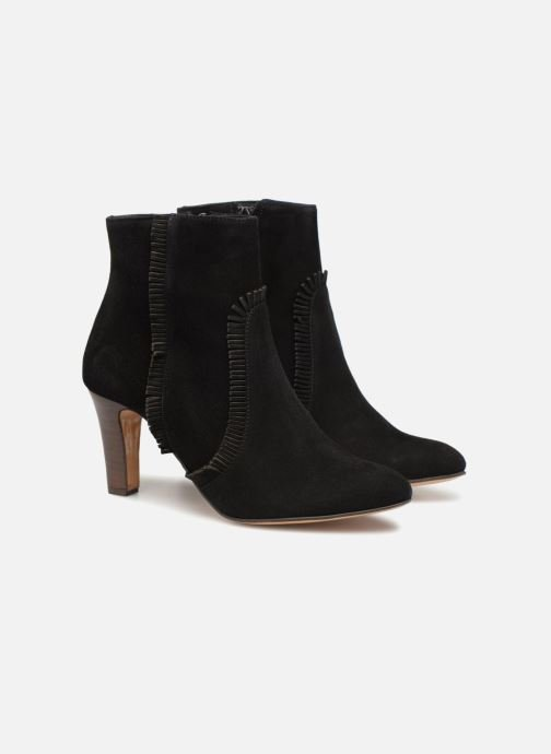 Ankle boots Tila March TMS323-CH-02 Black 3/4 view