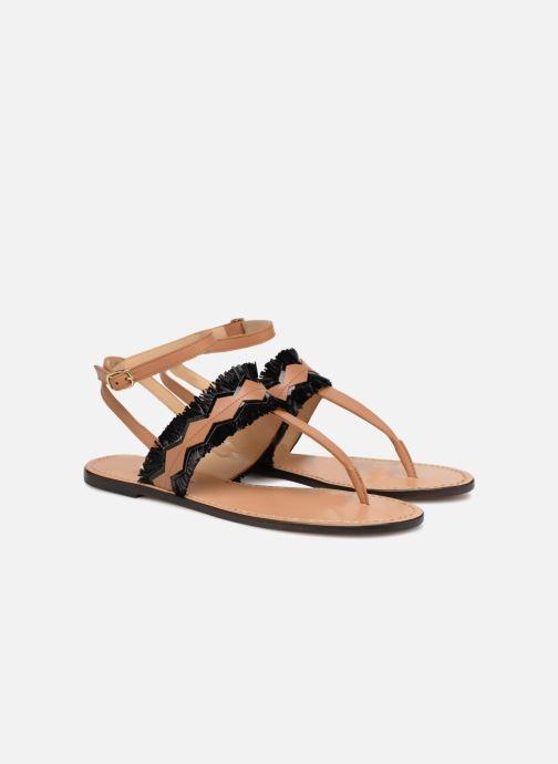 Sandales et nu-pieds Tila March TMS255-AL-01-28 Marron vue 3/4