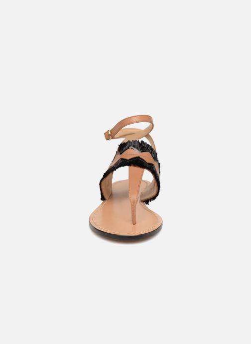 Sandales et nu-pieds Tila March TMS255-AL-01-28 Marron vue portées chaussures