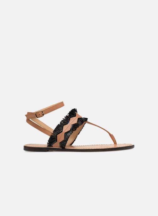 Sandales et nu-pieds Tila March TMS255-AL-01-28 Marron vue derrière