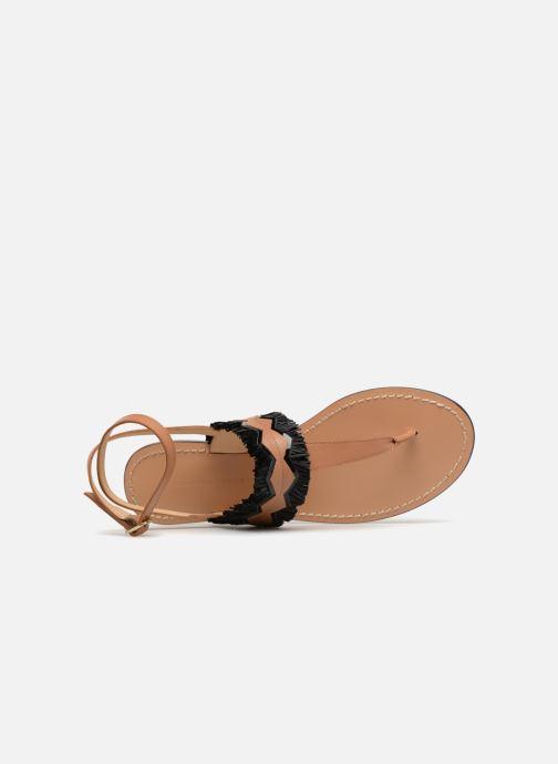 Sandales et nu-pieds Tila March TMS255-AL-01-28 Marron vue gauche