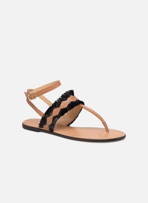 Sandales et nu-pieds Tila March TMS255-AL-01-28 Marron vue détail/paire