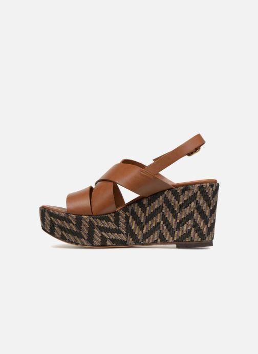 Sandales et nu-pieds Tila March TMS205-JO-40-03 Marron vue face