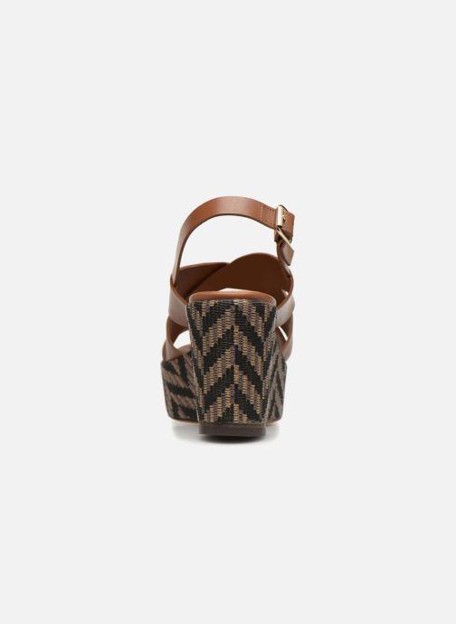 Sandales et nu-pieds Tila March TMS205-JO-40-03 Marron vue droite