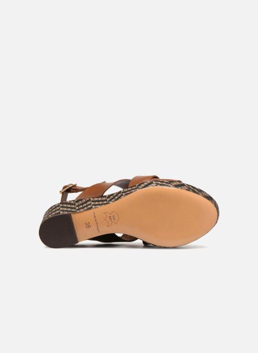 Sandales et nu-pieds Tila March TMS205-JO-40-03 Marron vue haut