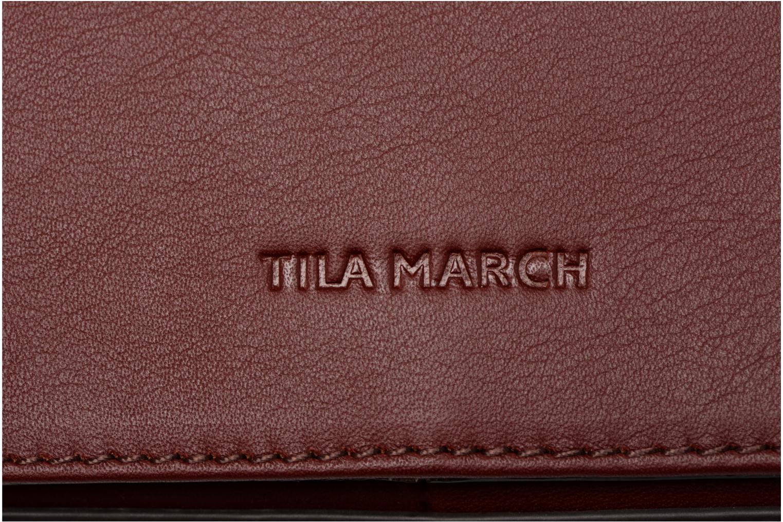 Sacs à main Tila March TMKB01-01 Bordeaux vue gauche