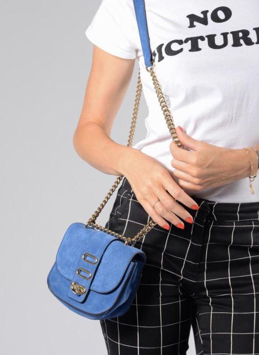 Bolsos de mano Tila March TMM16-02 Azul vista de abajo