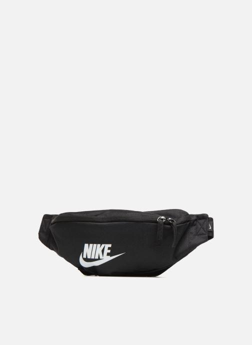 Petite Maroquinerie Nike NK HERITAGE HIP PACK Noir vue portées chaussures