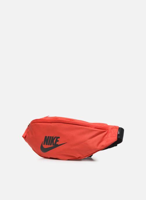 Petite Maroquinerie Nike NK HERITAGE HIP PACK Orange vue portées chaussures