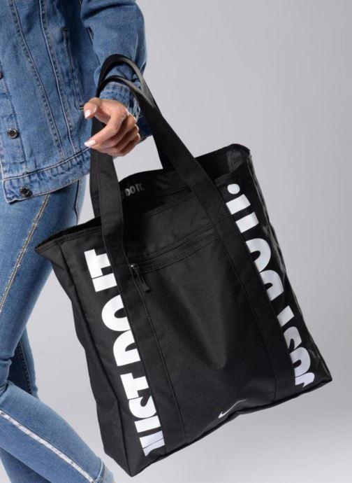 Sporttaschen Nike W NK GYM TOTE rosa ansicht von unten / tasche getragen