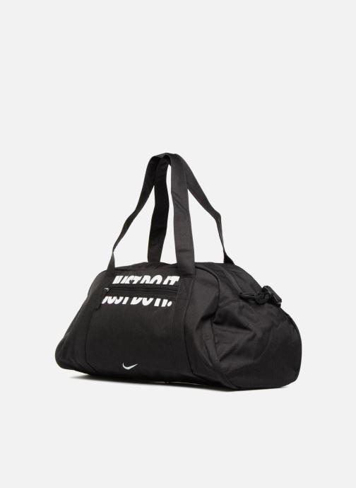 Sacs de sport Nike W NK GYM CLUB Noir vue portées chaussures