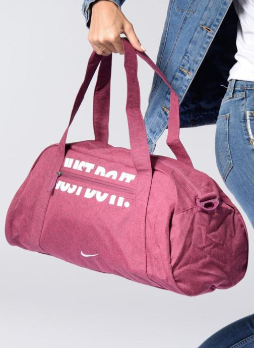 Sports bags Nike W NK GYM CLUB Black view from above