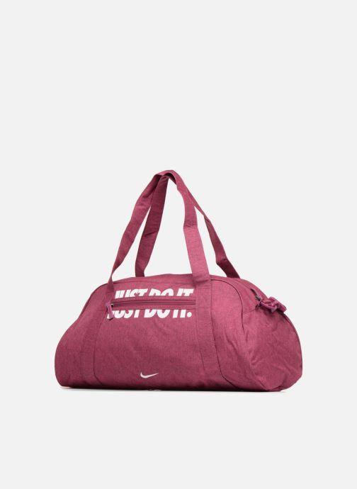 Bolsas de deporte Nike W NK GYM CLUB Rosa vista del modelo