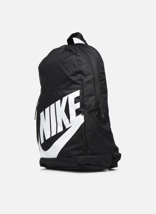 Zaini Nike Y NK ELMNTL BKPK Nero modello indossato