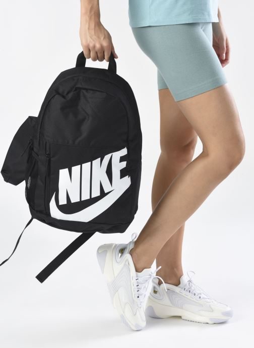Rucksäcke Nike Y NK ELMNTL BKPK schwarz ansicht von unten / tasche getragen