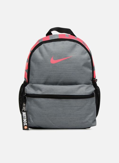 Rucksacks Nike Y NK BRSLA JDI MINI BKPK Grey detailed view/ Pair view