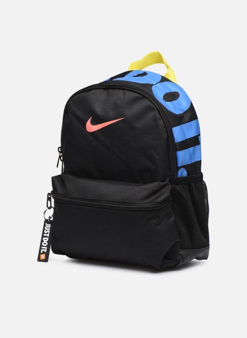 Sacs à dos Nike Y NK BRSLA JDI MINI BKPK Noir vue portées chaussures