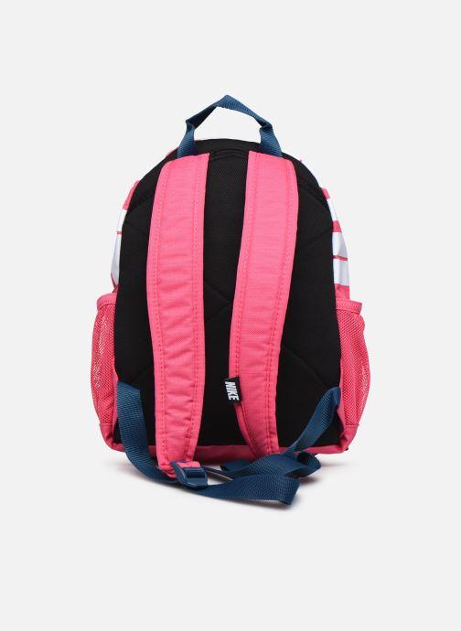 Rucksacks Nike Y NK BRSLA JDI MINI BKPK Pink front view