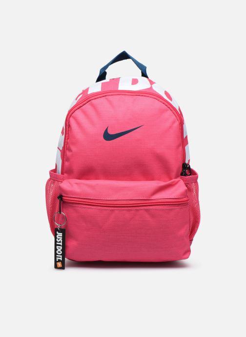 Mochilas Nike Y NK BRSLA JDI MINI BKPK Rosa vista de detalle / par