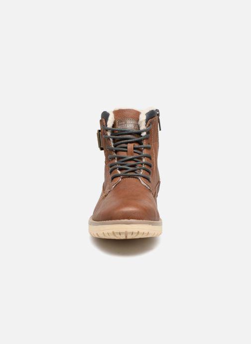 Stiefel Mustang shoes Mirkle braun schuhe getragen
