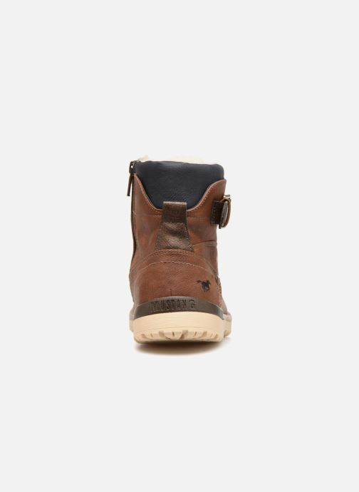 Stiefel Mustang shoes Mirkle braun ansicht von rechts