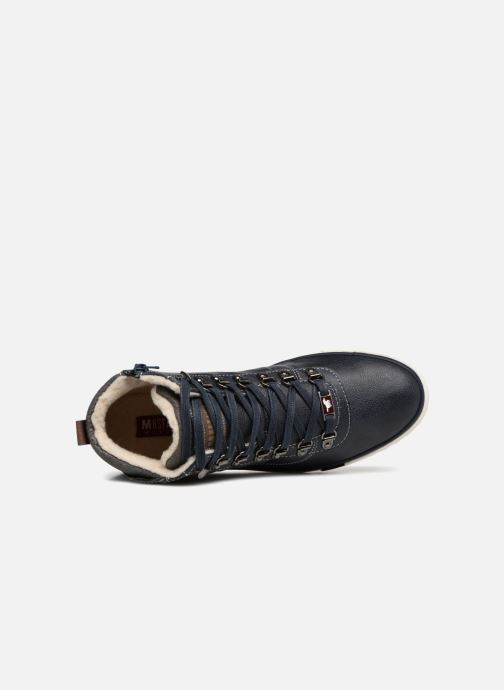 Sneakers Mustang shoes Stel Azzurro immagine sinistra