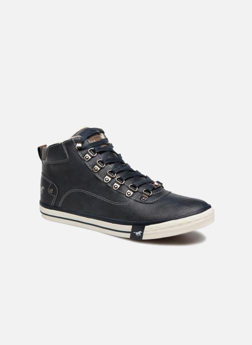 Baskets Mustang shoes Stel Bleu vue détail/paire