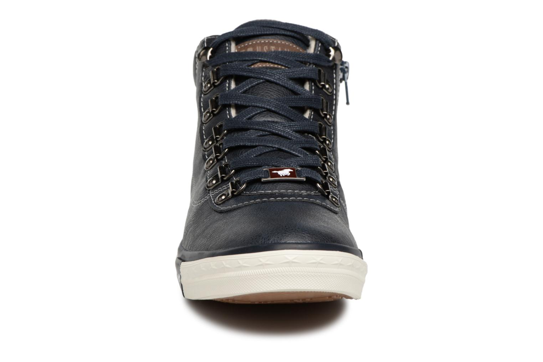 Baskets Mustang shoes Stel Bleu vue portées chaussures