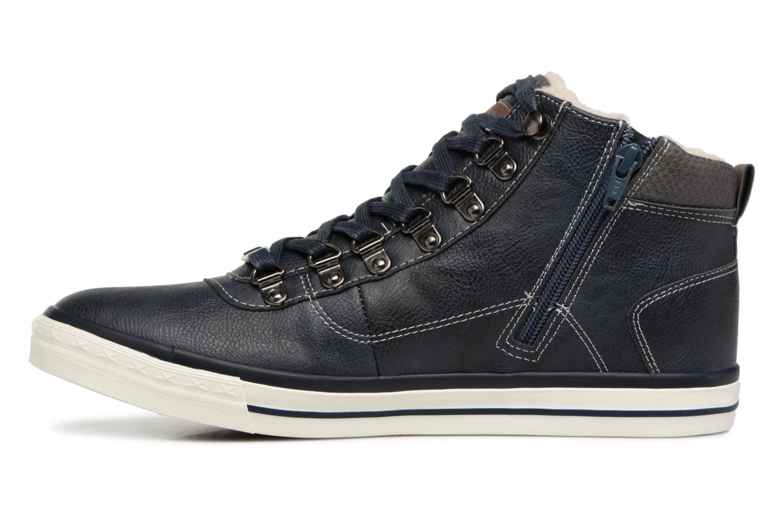 Baskets Mustang shoes Stel Bleu vue face