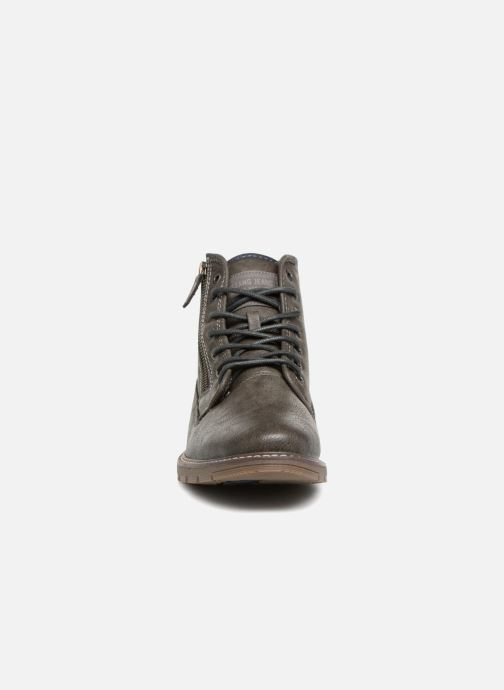 Bottines et boots Mustang shoes Calagan Gris vue portées chaussures