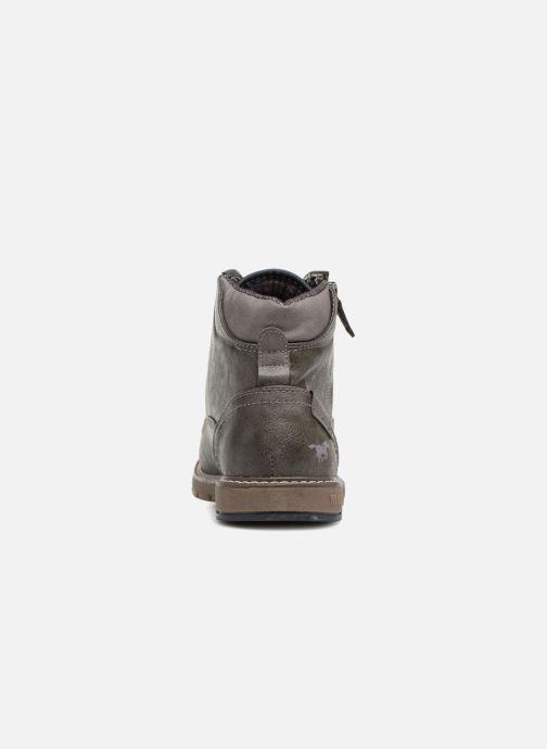 Bottines et boots Mustang shoes Calagan Gris vue droite
