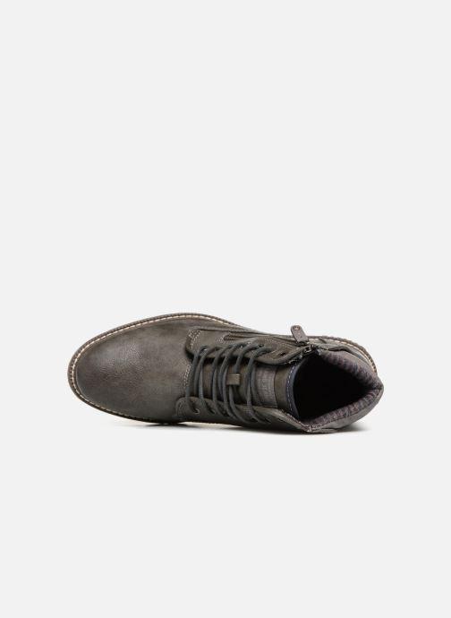 Bottines et boots Mustang shoes Calagan Gris vue gauche