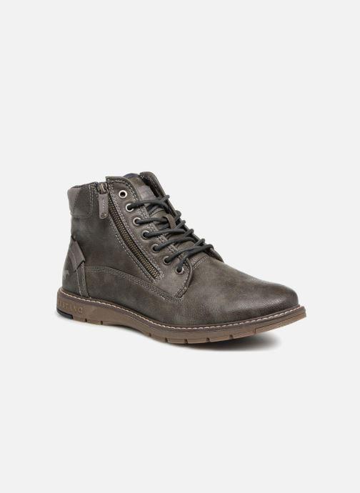 Bottines et boots Mustang shoes Calagan Gris vue détail/paire