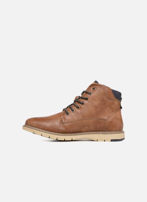 Bottines et boots Mustang shoes Calagan Marron vue face