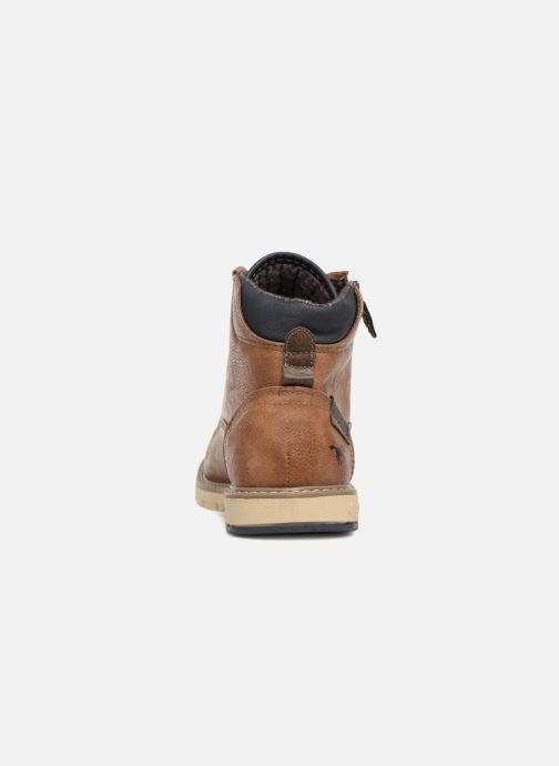 Bottines et boots Mustang shoes Calagan Marron vue droite