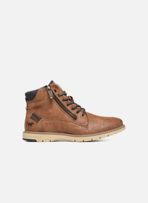 Boots en enkellaarsjes Mustang shoes Calagan Bruin achterkant