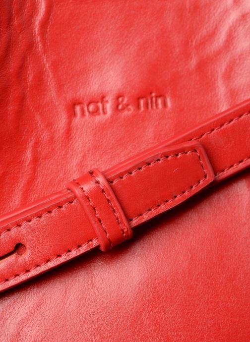 Sacs à main Nat & Nin APRIL Rouge vue gauche