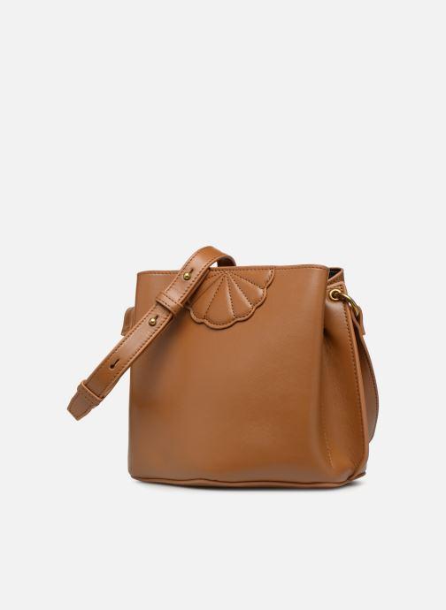 Handtaschen Nat & Nin APRIL braun schuhe getragen