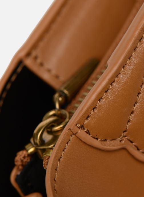 Handtaschen Nat & Nin APRIL braun ansicht von links