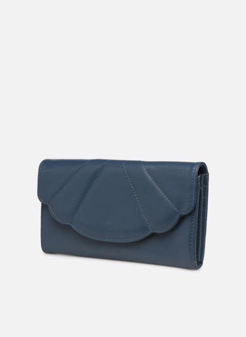 Petite Maroquinerie Nat & Nin BALI Bleu vue portées chaussures