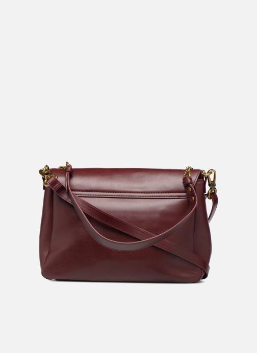 Handtaschen Nat & Nin CHELSEA weinrot ansicht von vorne