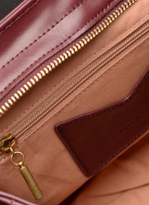 Handtaschen Nat & Nin CHELSEA weinrot ansicht von hinten