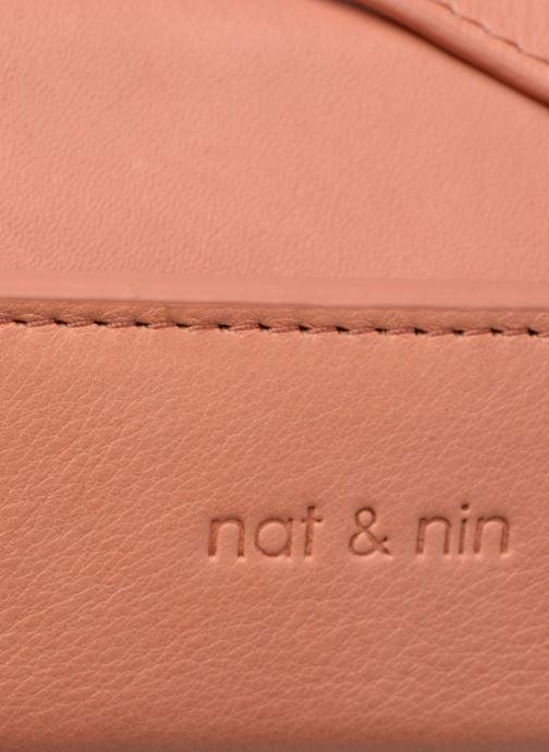 Bolsos de mano Nat & Nin JUDITH Rosa vista lateral izquierda