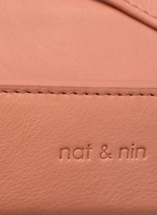 Sacs à main Nat & Nin JUDITH Rose vue gauche