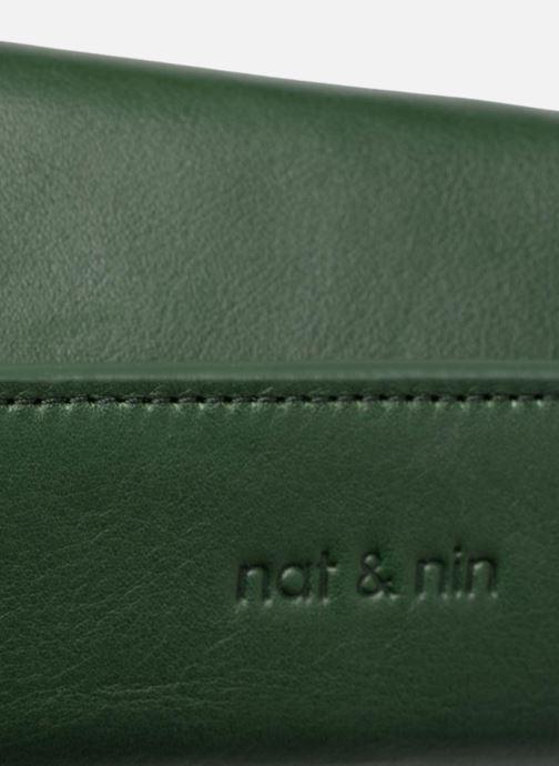 Sacs à main Nat & Nin JUDITH Vert vue gauche