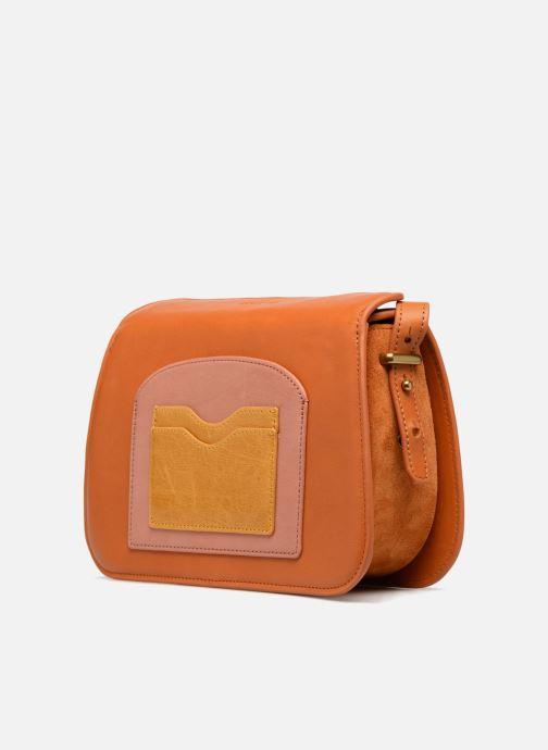 Bolsos de mano Nat & Nin JUDITH Amarillo vista del modelo